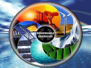 Erneuerbare Energien- Rettung vor dem Weltuntergang