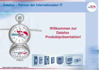Datafox � Partner der internationalen IT