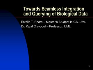 Towards Seamless Integration and Querying of Biological Data