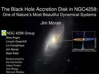 The Black Hole Accretion Disk in NGC4258: One of Nature's Most Beautiful Dynamical Systems