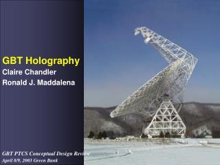 GBT Holography