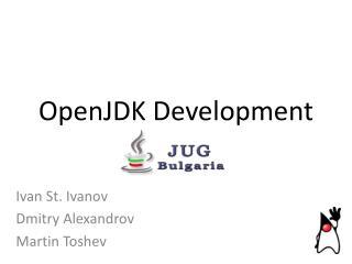 OpenJDK Development