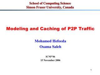 School of Computing Science Simon Fraser University, Canada