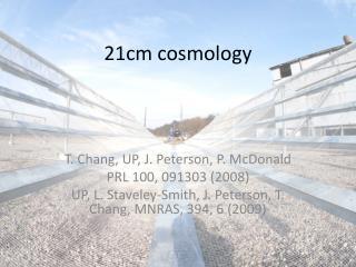 21cm cosmology
