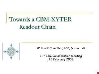 Towards a CBM-XYTER 	Readout Chain