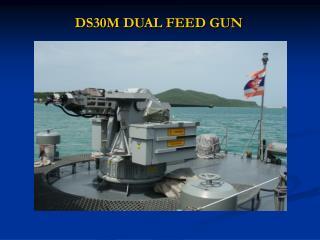 DS30M DUAL FEED GUN