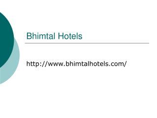 Bhimtal Hotels