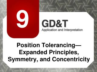 Position Tolerancing—Expanded Principles, Symmetry, and Concentricity