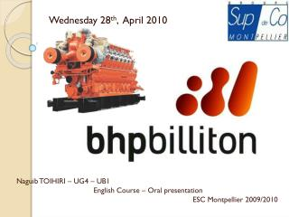 Wednesday 28 th ,  April 2010