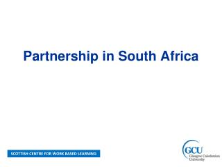 Partnership in South Africa