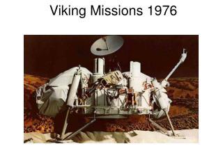 Viking Missions 1976