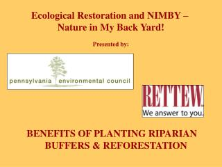 BENEFITS OF PLANTING RIPARIAN BUFFERS & REFORESTATION