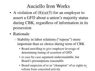 Auciello Iron Works