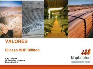 VALORES El caso BHP Billiton