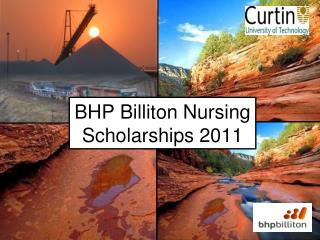 BHP Billiton Nursing Scholarships 2011