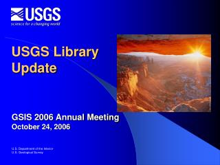 USGS Library Update