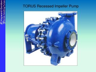 TORUS Recessed Impeller Pump