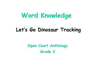 Word Knowledge