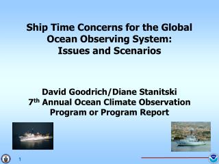 Ship Time Concerns for the Global Ocean Observing System: Issues and Scenarios