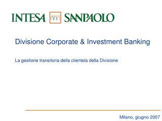 Milano, giugno 2007