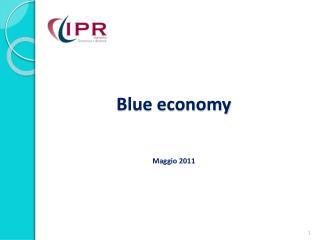 Blue economy Maggio 2011