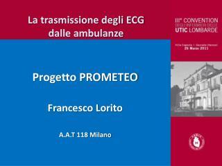 La trasmissione degli ECG dalle ambulanze