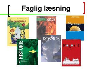 Faglig l�sning