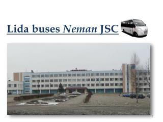 Lida  buses  Neman  JSC