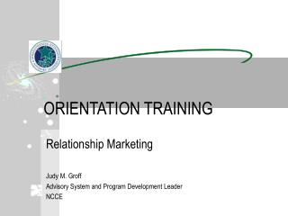 ORIENTATION TRAINING