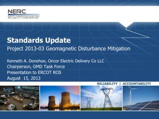 Standards Update Project 2013-03 Geomagnetic Disturbance Mitigation