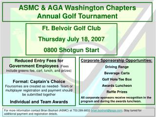 ASMC  AGA Washington Chapters