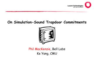 On Simulation-Sound Trapdoor Commitments