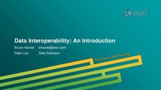 Data Interoperability: An Introduction
