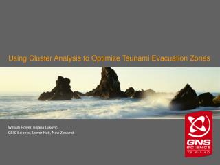Using Cluster Analysis to Optimize Tsunami Evacuation Zones