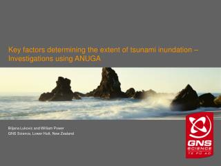 Key factors determining the extent of tsunami inundation – Investigations using ANUGA