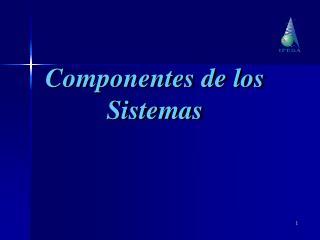 Componentes de los Sistemas
