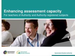 Enhancing assessment capacity