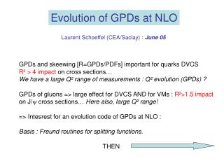 GPDs and skeewing [R=GPDs/PDFs] important for quarks DVCS R² > 4 impact  on cross sections…