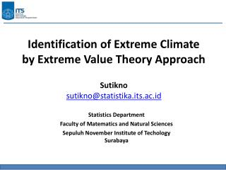 Identification of Extreme Climate  by Extreme Value Theory Approach