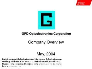 GPD Optoelectronics Corp.