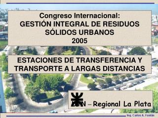 ESTACIONES DE TRANSFERENCIA Y TRANSPORTE A LARGAS DISTANCIAS