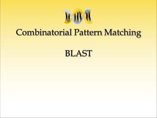 Combinatorial Pattern Matching BLAST