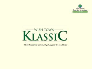 New Residential Community at Jaypee Greens, Noida