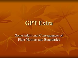GPT Extra