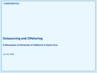 Definition of Offshore Outsourcing