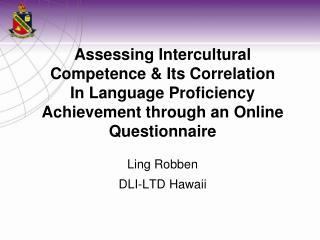 Ling Robben DLI-LTD Hawaii