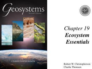 Chapter 19 Ecosystem Essentials