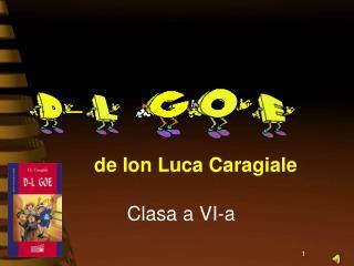 de Ion Luca Caragiale