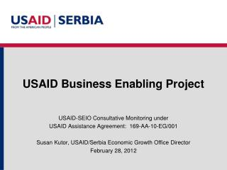 USAID Business Enabling Project
