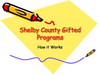 Shelby County Gifted Programs